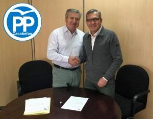 Raúl Valcarce y Adolfo Canedo