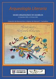 Arqueología Literaria. CARTEL